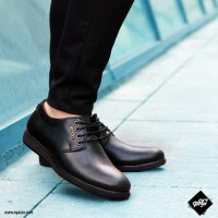 کفش چرم مردانه تبریز طرح اکو بندی