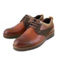 کفش چرم مردانه کروکودیل بندی