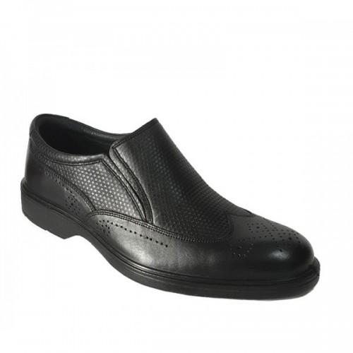 کفش مردانه چرم مجلسی همگام HAMGAM SHOES MEN LEATHER 219