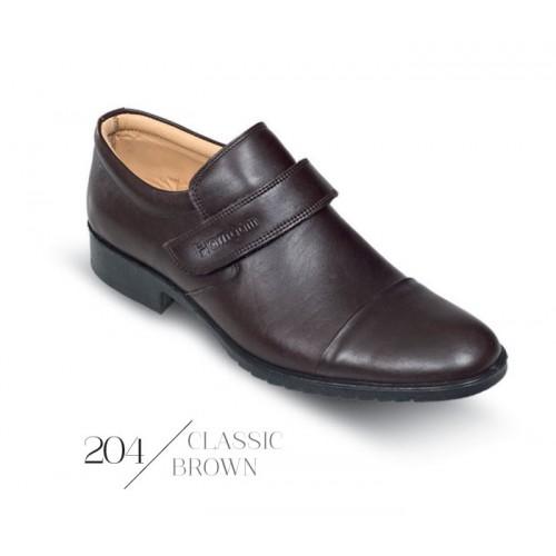 کفش مردانه کلاسیک کمردار سرپنجه دار 204 همگام