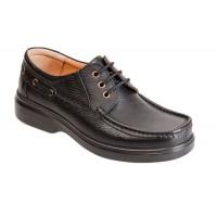 کفش مردانه آلفا بندی چرم همپا