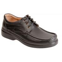 کفش مردانه پاتریک بندی چرم همپا