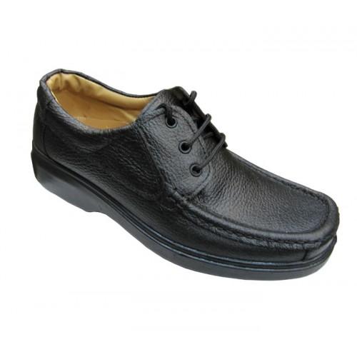 کفش مردانه آلفا بندی چرم جلال