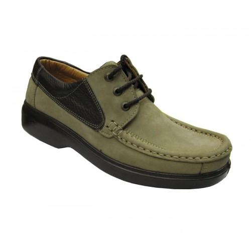 کفش مردانه آلفا بندی نبوک جلال