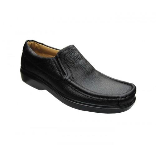 کفش مردانه آلفا کشدار چرم جلال