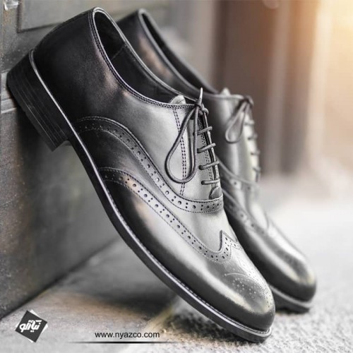 کفش کلاسیک مردانه هشت ترک توران مدل 118