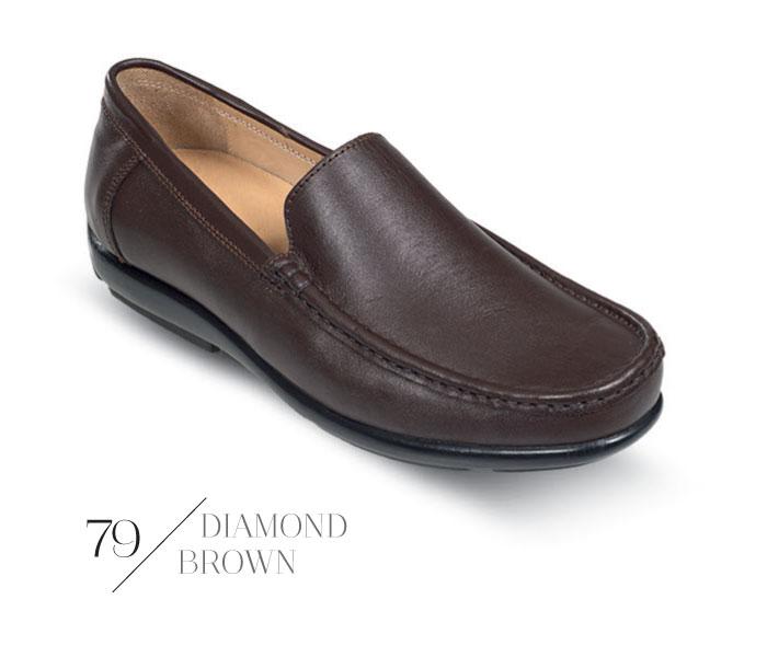 کفش بچه گانه همگامکفش میانه پسرانه کالج چرم 77 همگام